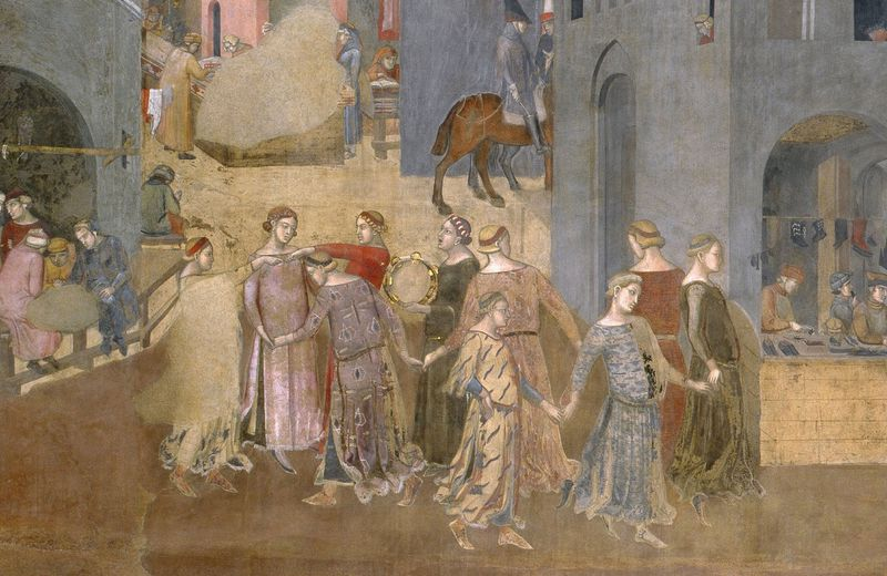 Ambrogio-Lorenzetti-Effects-of-Good-Government-in-the-city