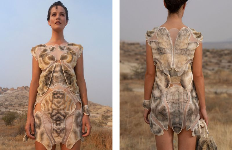 Digital Vogue Between Synthetic and Organic Processes by Julia Koerner