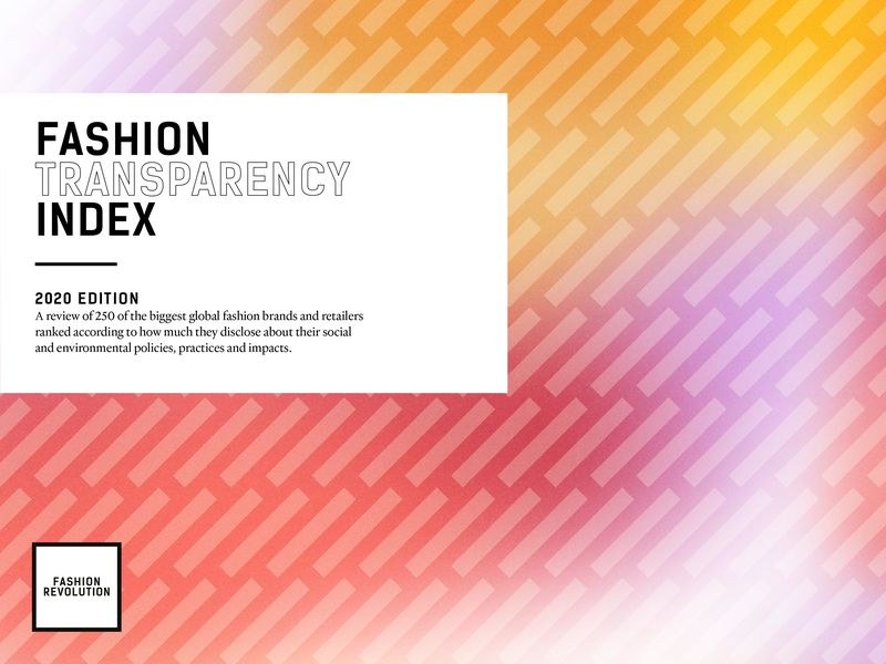 The Fashion Transparency Index 2020