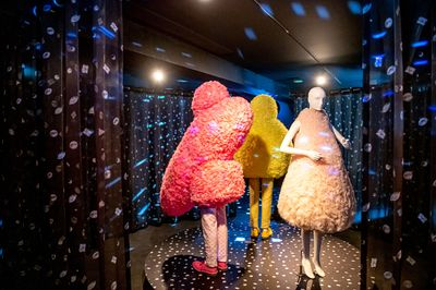 4|9 Exhibition view © Fashion Museum Hasselt