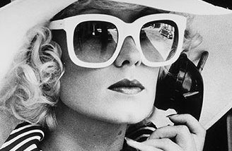 Sunglasses S-4, model advertising campaign, Robert La Roche